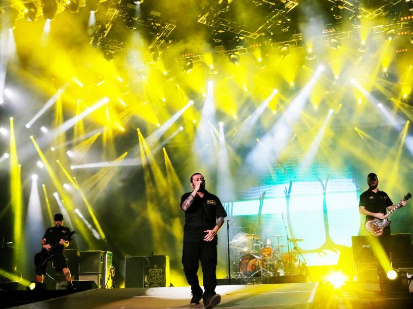 Show da banda CPM 22 na quarta noite do Rock in Rio