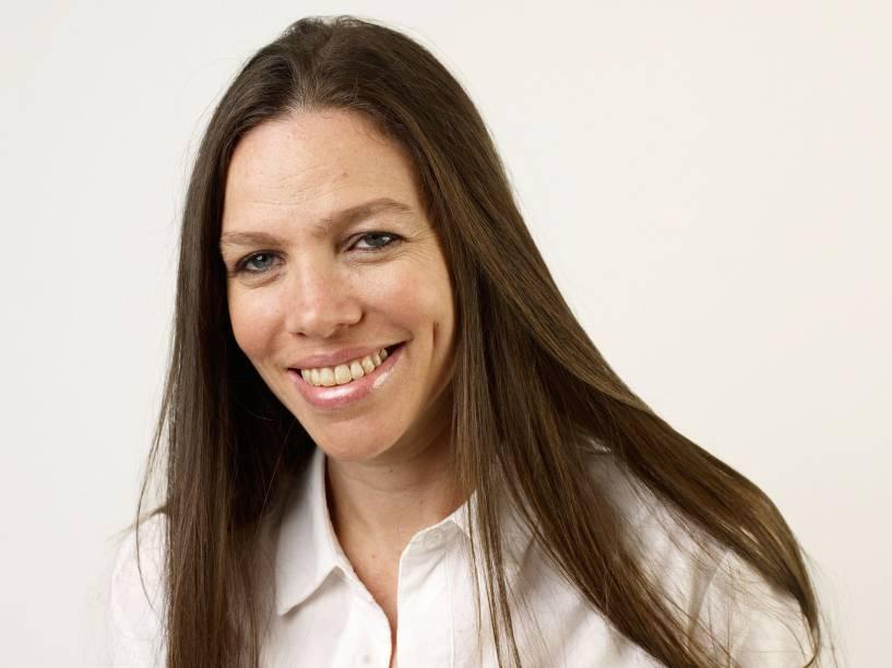A cineasta brasileira Sandra Kogut