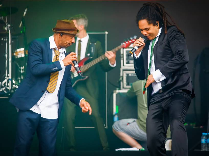 Banda Seed se apresenta no segundo dia do Festival Lollapalooza 2016