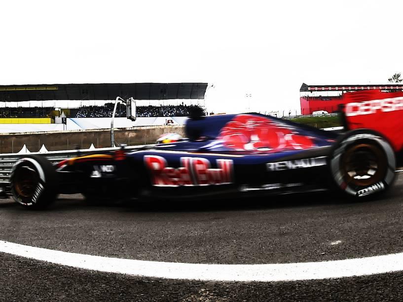 Max Verstappen em Interlagos