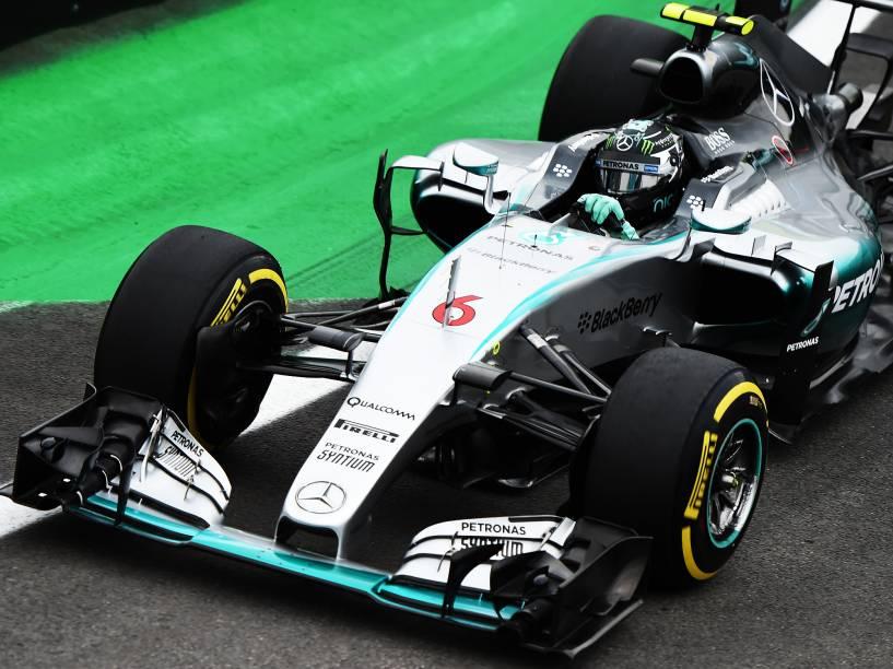 Nico Rosberg em Interlagos
