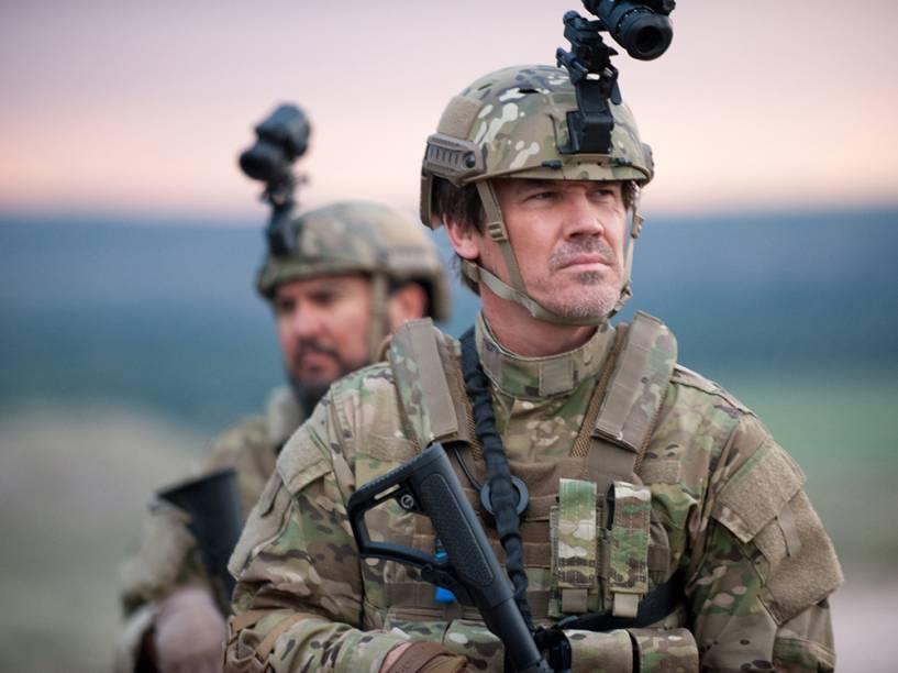 Josh Brolin no filme 'Sicario: Terra de Ninguém'