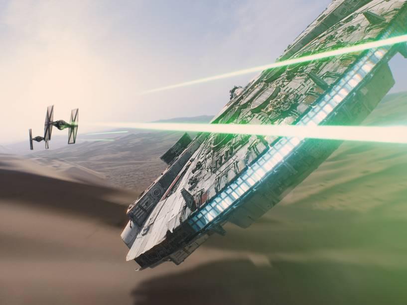Nave Millenium Falcon retorna em Star Wars: Episódio VII