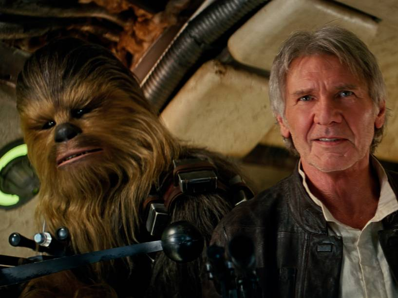 Han Solo (Harrison Ford) e Chewbacca (Peter Mayhew) no segundo teaser de 'Star Wars'