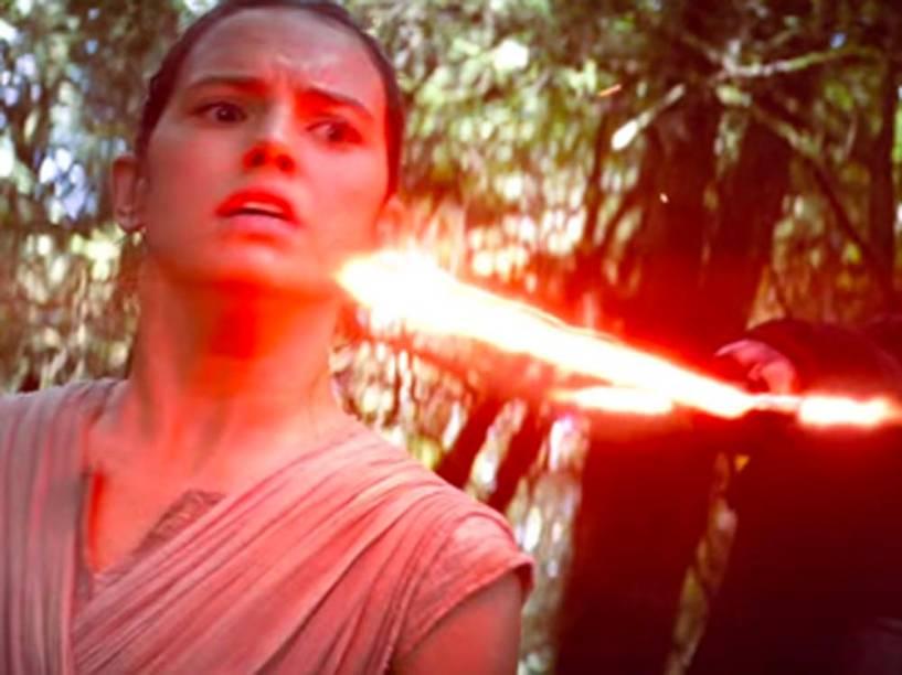 Rey em Star Wars - O Despertar da Força
