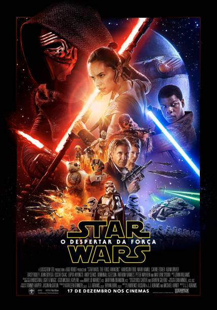 Primeiro cartaz oficial de Star Wars - O Despertar da Força, que estreia em 17 de dezembro