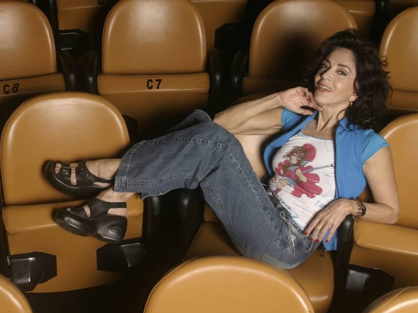 A atriz Yoná Magalhães