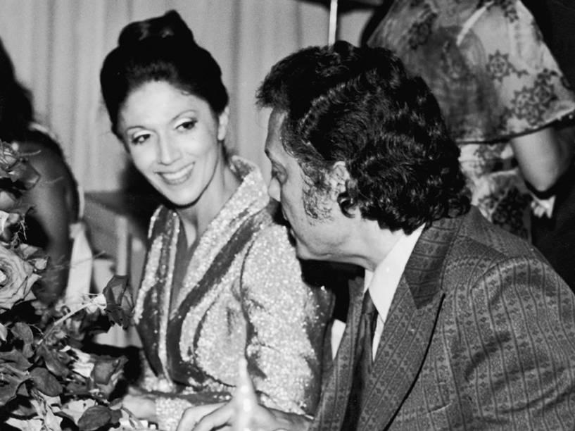 Yoná Magalhães e Cyll Farney em 1973