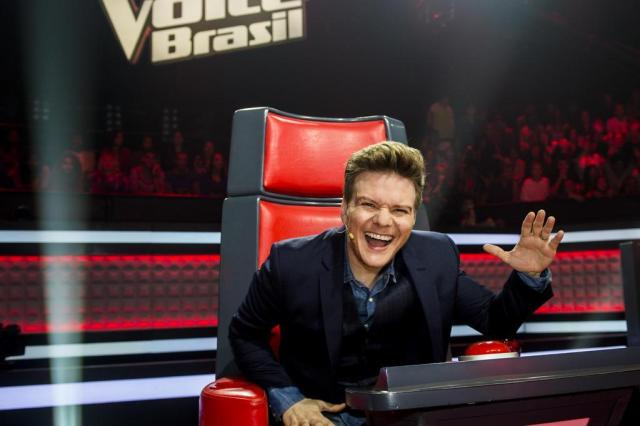 Michel Teló no The Voice Brasil
