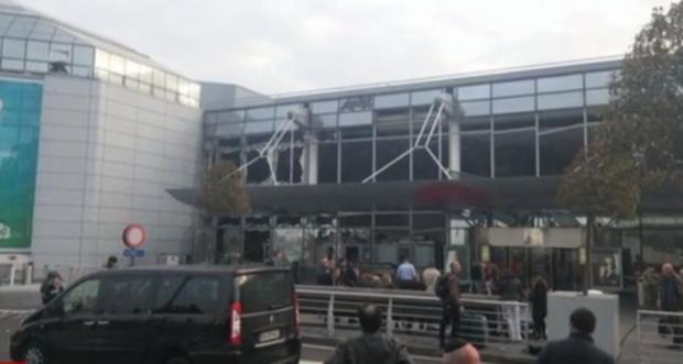 Terroristas atacam aeroporto de Bruxelas