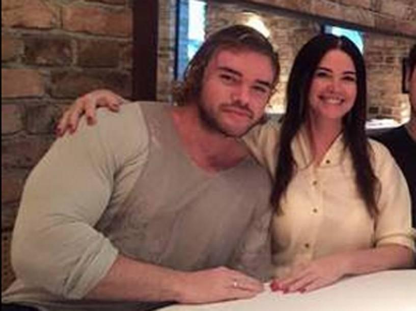 Thor Batista e a mãe, Luma de Oliveira