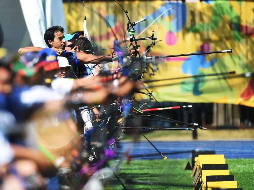 Disputas do tiro com arco nos Jogos Pan-Americanos de Toronto, Canadá