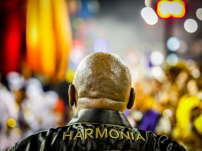 Desfile da escola de samba Vai-Vai, no Sambódromo do Anhembi em São Paulo (SP), neste domingo (07)
