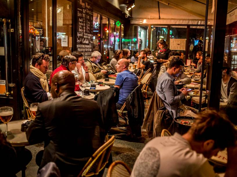 VEJA na cobertura dos atentados de Paris - Fotos Eric Garault