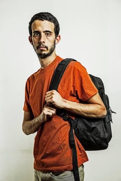 Ignacio, estudante de Caracas que foi preso sem motivos - 07/04/2014