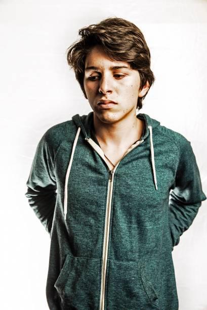 Jorchual Gergory Vargas, estudante de Valencia que foi preso e sofreu maus tratos pela polícia - 06/04/2014