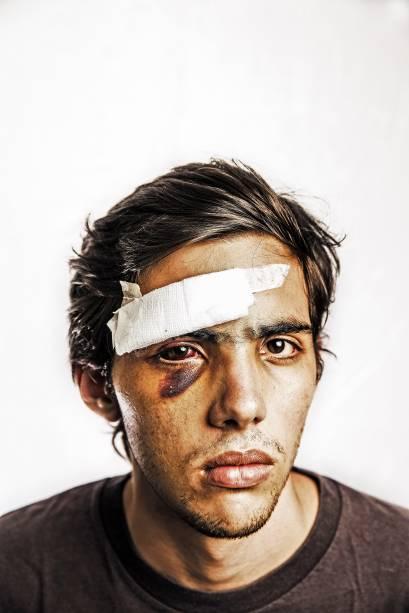 Jose Ribas, estudante de Caracas que foi linchado por Colectivos dentro da universidade - 08/04/2014