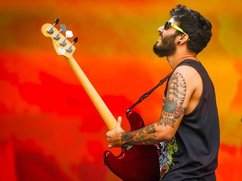 Apresentação da banda Versalle no Lollapalooza Brasil 2016