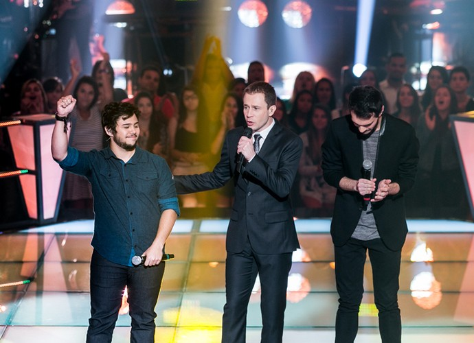 Marcelo Vianna e Renato Marchetti, cantores do The Voice Brasil