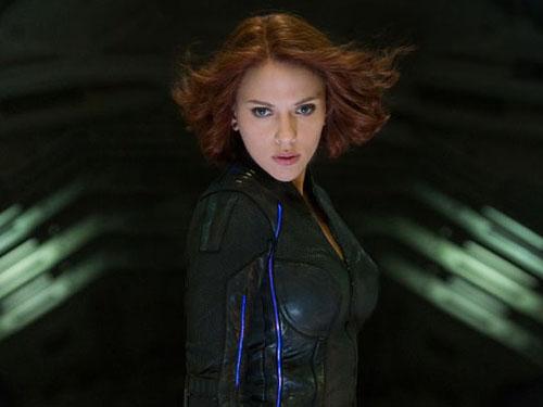 Scarlett Johansson reprisa o papel de Viúva Negra em Os Vingadores: A Era de Ultron