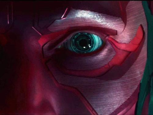 O personagem Visão faz sua estreia no Universo Cinematográfico da Marvel em Os Vingadores: A Era de Ultron