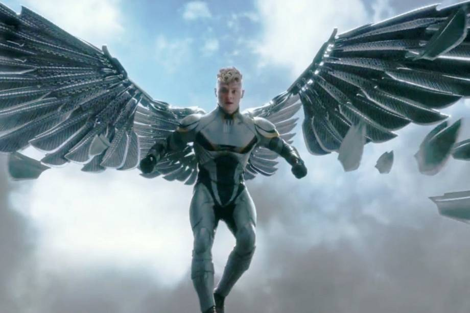 Ben Hardy como Anjo em X-Men: Apocalipse