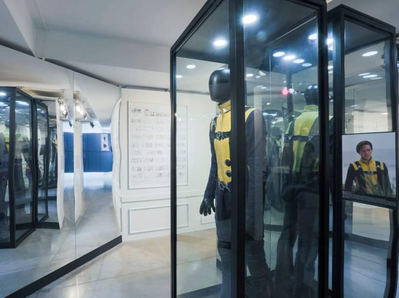 Exposição X-Men Filmes Expo, em cartaz no MIS