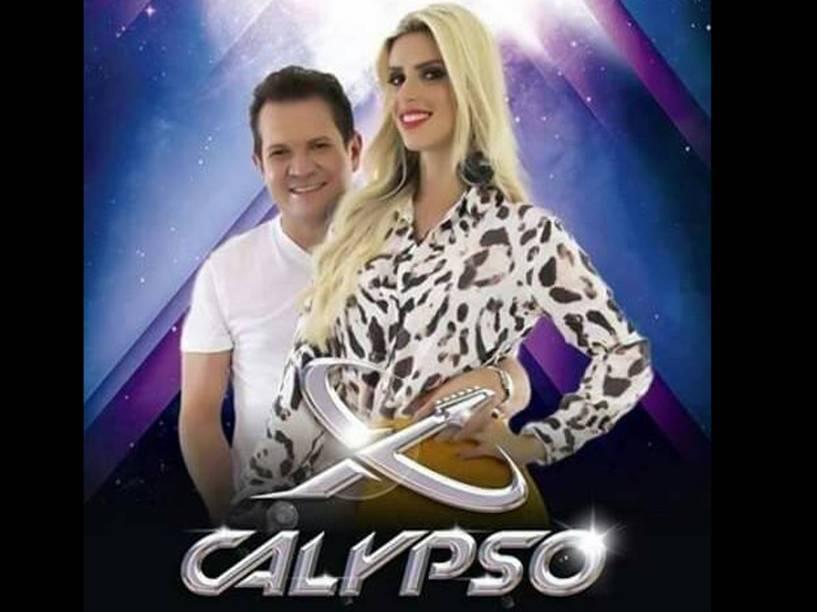 Ximbinha e Thábata Mendes, integrantes da XCalypso