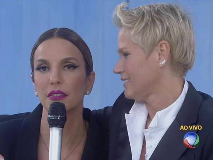 Na Record, Ivete Sangalo nega romance com Xuxa: Sou do badalo