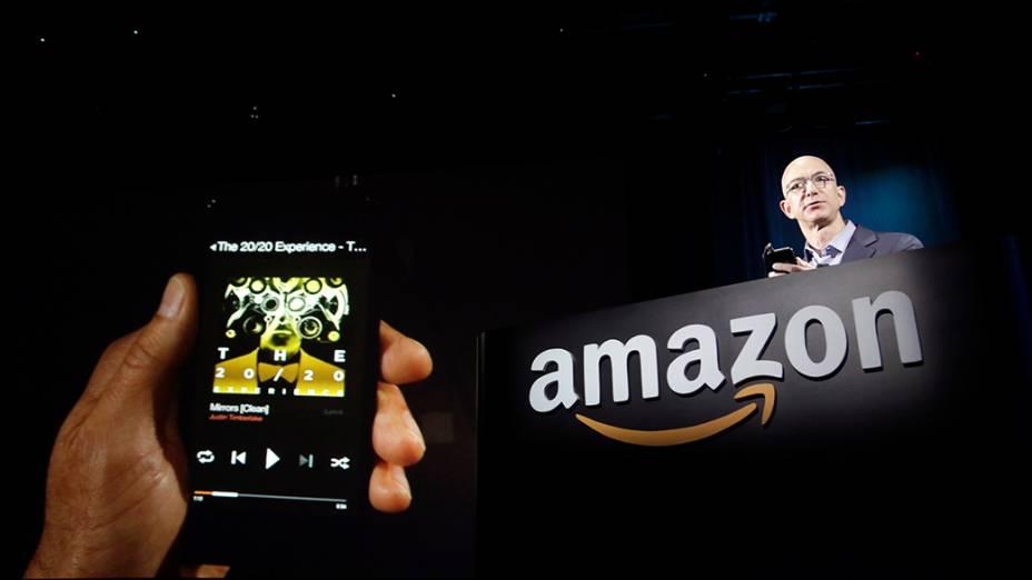 Smartphone da Amazon terá recurso Firefly para localizar conteúdo e produtos na web