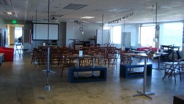 Ambiente informal da aceleradora 500 Startups, em Mountain View