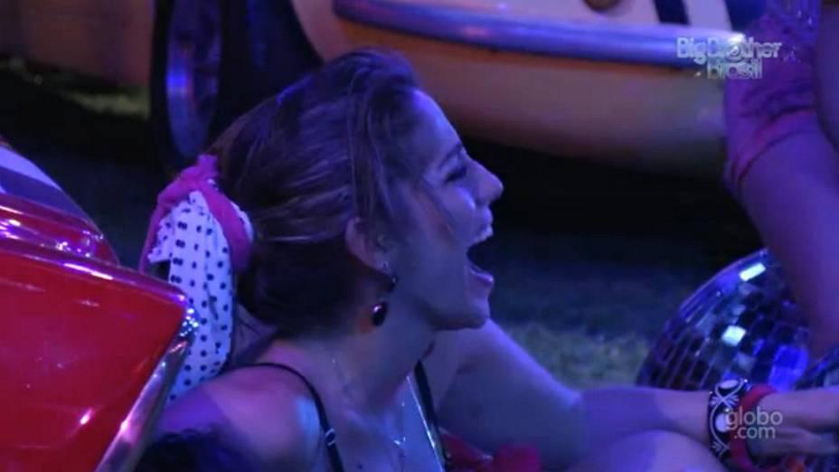 Anamara na Festa Retrô do BBB 13