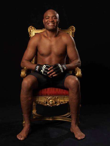 Anderson Silva, campeão do UFC, em sessão de fotos exclusiva para VEJA, em 2012