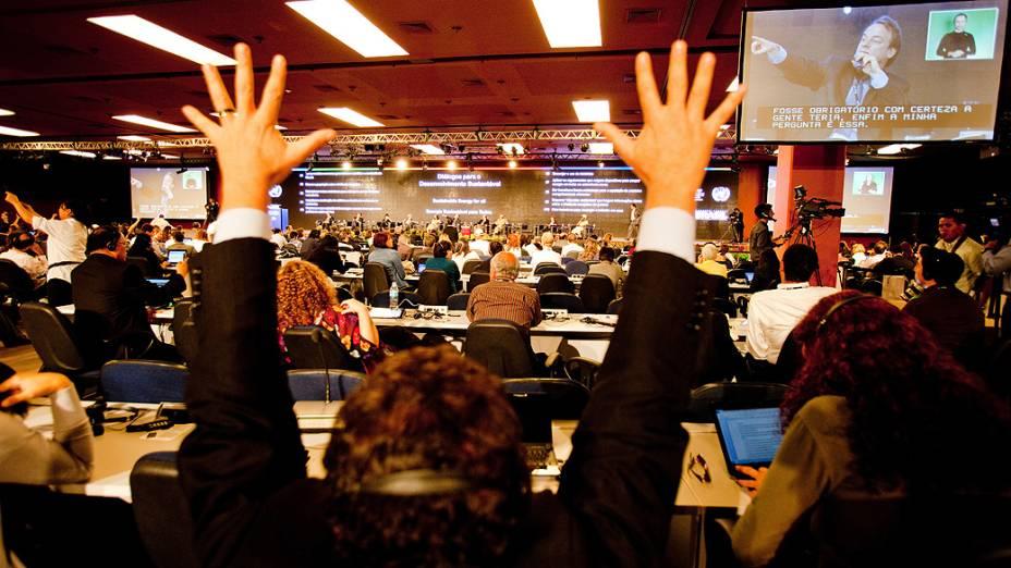 Diálogos para o Desenvolvimento Sustentável, no Auditório 5 no Riocentro