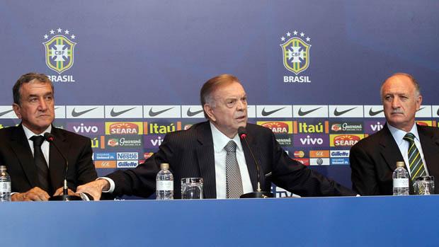 Coletiva de imprensa da Seleção Brasileira de Futebol