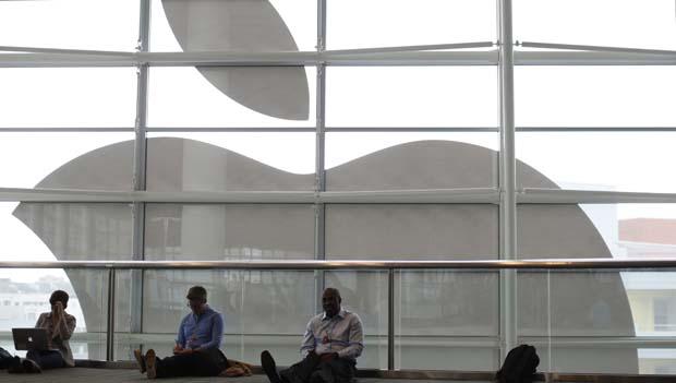 Participantes na Apple Worldwide Developers Conference (WWDC) 2013, em São Francisco, Califórnia