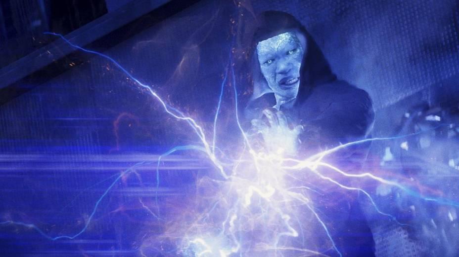 Cena do filme O Espetacular Homem-Aranha 2: A Ameaça de Electro