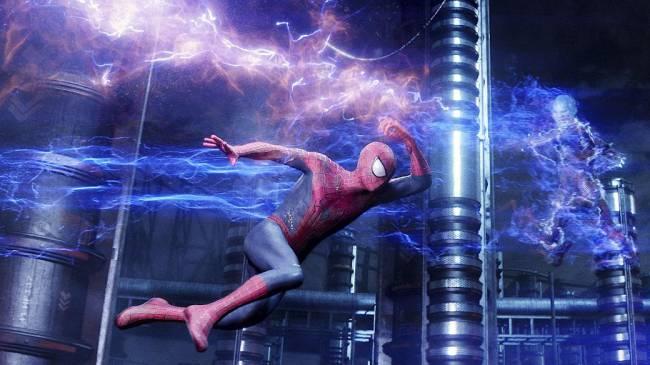 Cena do filme 'O Espetacular Homem-Aranha 2: A Ameaça de Electro'