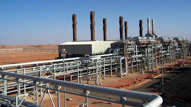 Instalações da British Petroleum na região argelina de In Aménas