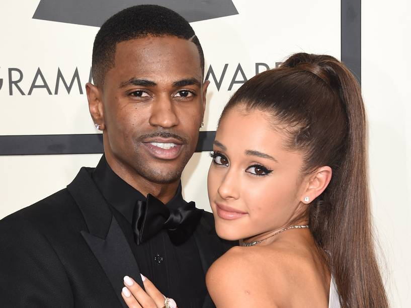 Ariana Grande e seu ex-namorado o rapper Big Sean