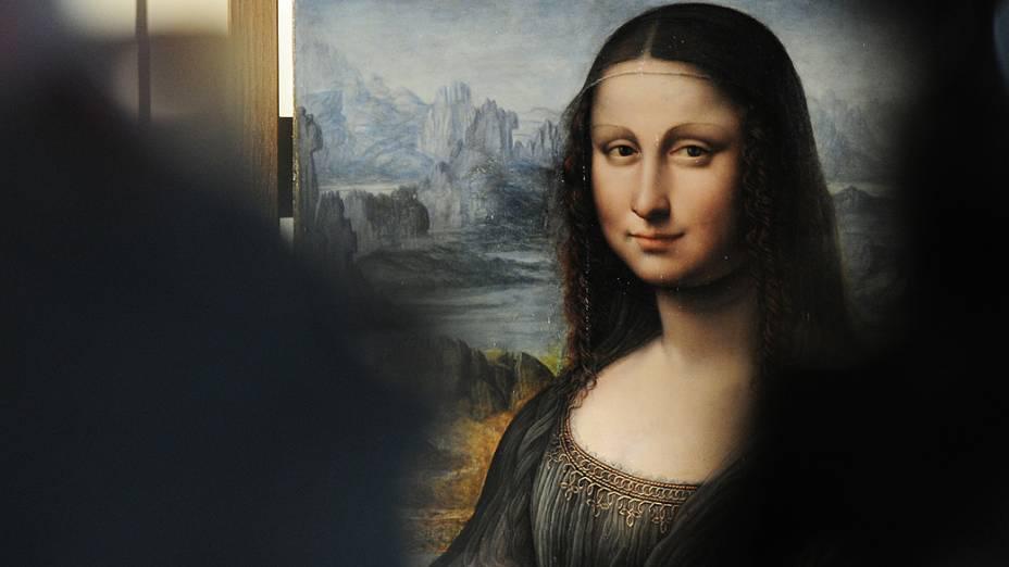 Mona Lisa a obra mais famosa de Leonardo da Vinci