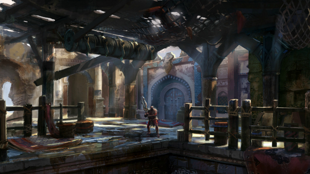 Arte conceitual de God of War: Ascension