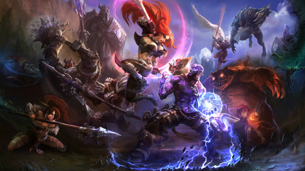 Arte conceitual de League of Legends