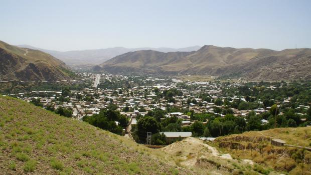 Pequena cidade em Badakhshan, região montanhosa onde ocorreram os delizamentos, no Afeganistão