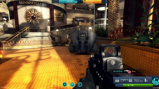 Detalhes como sombras e texturas mostram o grau de preocupação com o visual do jogo