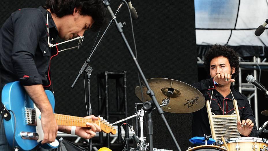 Show da banda Perrosky no festival Lollapalozza, em São Paulo
