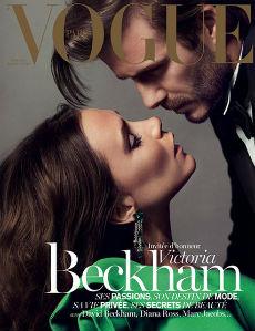 Victoria e David Beckham são capa da revista Vogue