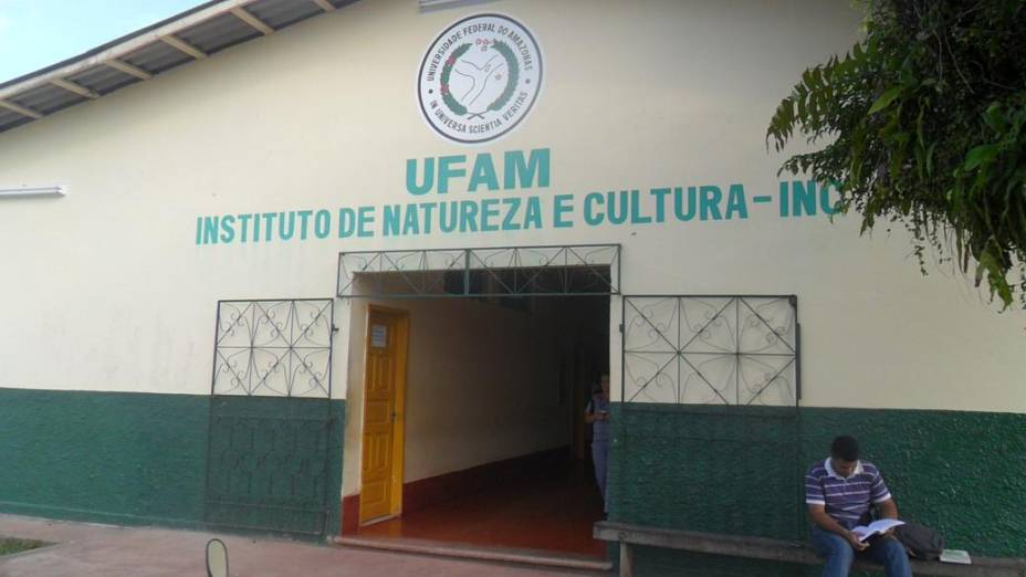 Entrada do campus de Benjamin Constant da Universida Federal do Amazonas (Ufam)