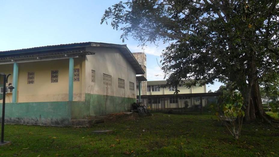 Inaugurada em 2007, universidade ainda utiliza as instalações de uma antiga escola rural por falta de instalações próprias