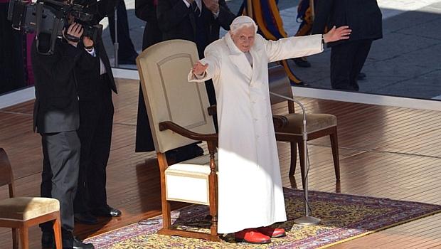 Bento XVI proclama seu último sermão antes da renúncia